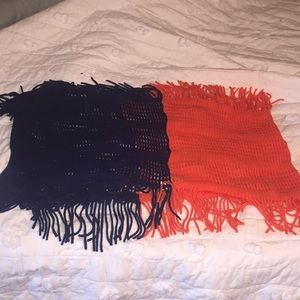 Scarves ($10 for all or $2 per scarf)